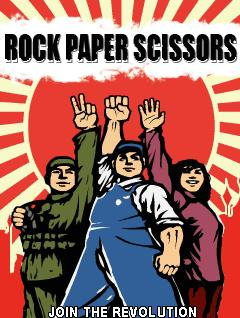 Download free mobile game: Rock Paper Scissors Join The Revolution - download free games for mobile phone