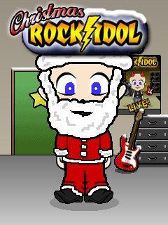 Download free mobile game: Christmas Rock Idol - download free games for mobile phone