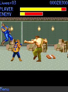 Mobile game Final Fight - screenshots. Gameplay Final Fight