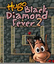 Download free mobile game: Hugo Black Diamond Fever 2 - download free games for mobile phone