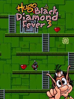 Download free mobile game: Hugo Black Diamond Fever 3 - download free games for mobile phone