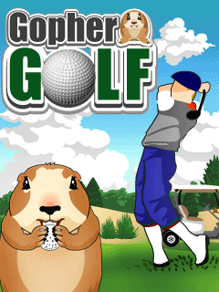 Download free mobile game: Gopher Golf - download free games for mobile phone
