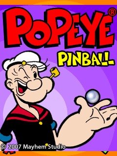 Mobile game Popeye Pinball - screenshots. Gameplay Popeye Pinball