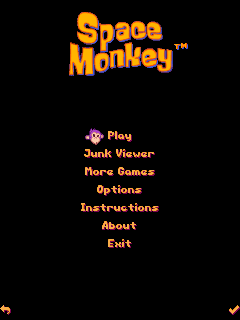 Download free mobile game: Space monkey - download free games for mobile phone