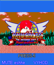 Download free mobile game: Knuckles The Hedgehog Part 2: Remastered - download free games for mobile phone