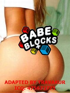Mobile game Babe Blocks - screenshots. Gameplay Babe Blocks