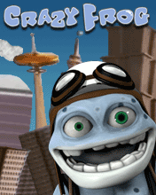 Mobile game Crazy Frog - screenshots. Gameplay Crazy Frog