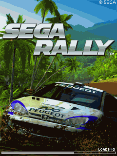 Mobile game SEGA Rally 3D - screenshots. Gameplay SEGA Rally 3D