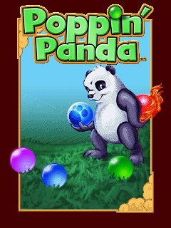 Download free mobile game: Poppin panda - download free games for mobile phone
