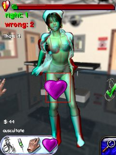 Mobile game Naughty Manga Nurse 3D - screenshots. Gameplay Naughty Manga Nurse 3D
