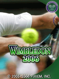 Download free mobile game: Wimbledon 2006 - download free games for mobile phone