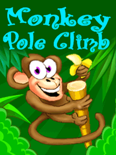 Download free mobile game: Monkey Pole Climb - download free games for mobile phone