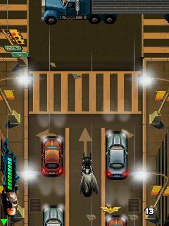 Mobile game The Dark Knight Rises - screenshots. Gameplay The Dark Knight Rises
