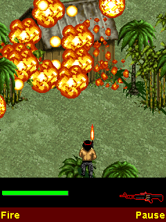 Rambo on Fire
