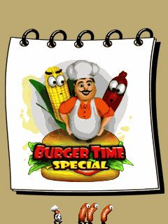 Mobile game Burger Time Special - screenshots. Gameplay Burger Time Special