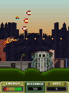 Mobile game JetPack Jack - screenshots. Gameplay JetPack Jack