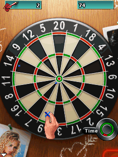 Mobile game Dart Girls 2008 (Darts XXX) - screenshots. Gameplay Dart Girls 2008 (Darts XXX)