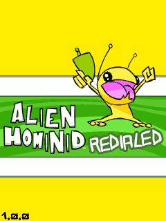 Download free mobile game: Alien Hominid Redialed - download free games for mobile phone