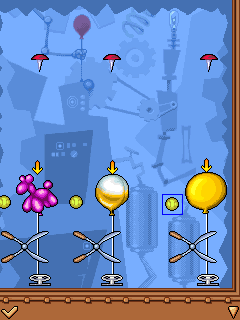 Mobile game The Incredible Machine - screenshots. Gameplay The Incredible Machine