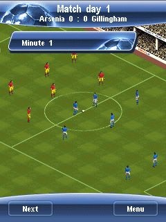 Mobile game Manager Pro Football 2008 - screenshots. Gameplay Manager Pro Football 2008