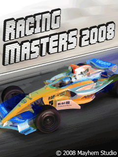 Download free mobile game: Racing Masters 2008 - download free games for mobile phone