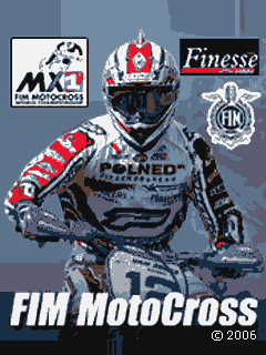 Download free mobile game: FIM MotoCross - download free games for mobile phone