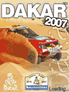 Download free mobile game: Dakar 2007 - download free games for mobile phone