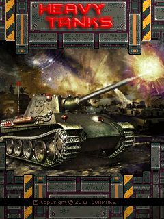 Download free mobile game: Heavy Tanks - download free games for mobile phone