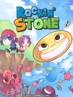 Download free mobile game: Rockin Stone - download free games for mobile phone