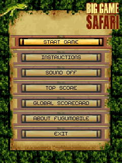 Mobile game Big Game Safari - screenshots. Gameplay Big Game Safari
