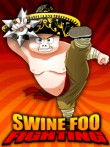 In addition to the  game for your phone, you can download Swine Foo Fighting for free.