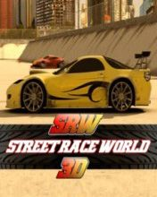 Download free mobile game: Street Race World 3D - download free games for mobile phone