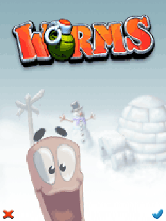 Download free mobile game: Worms - download free games for mobile phone