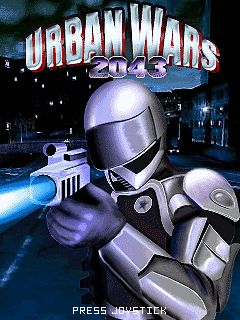Download free mobile game: Urban Wars 2043 - download free games for mobile phone