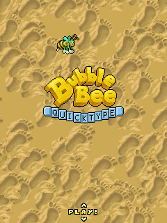 Download free mobile game: Bubble Bee: Quicktype - download free games for mobile phone