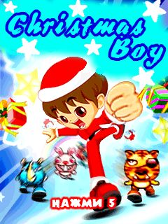 Mobile game Christmas Boy - screenshots. Gameplay Christmas Boy