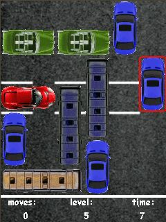 Mobile game Parking - screenshots. Gameplay Parking