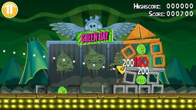 Mobile game Angry Birds: Green Day - screenshots. Gameplay Angry Birds: Green Day