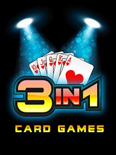 Download free mobile game: 3 in 1 Card Games - download free games for mobile phone