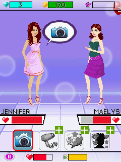 Mobile game Fashion Icon - screenshots. Gameplay Fashion Icon
