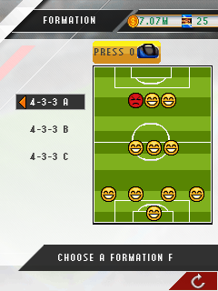 Mobile game Real Football Manager 2013 - screenshots. Gameplay Real Football Manager 2013