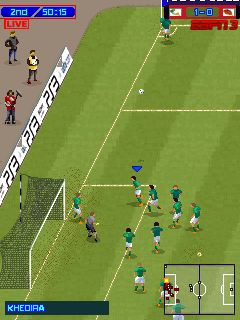 Mobile game Pro Evolution Soccer 2013 MOD - screenshots. Gameplay Pro Evolution Soccer 2013 MOD