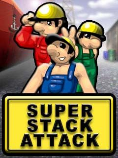 Download free mobile game: Super Stack Attack - download free games for mobile phone