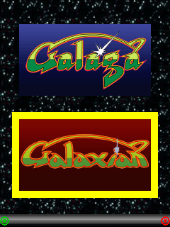 Mobile game Galaxian (Galaga) - screenshots. Gameplay Galaxian (Galaga)
