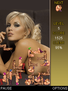 Mobile game Sех Party Tetris - screenshots. Gameplay Sех Party Tetris
