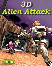 Download free mobile game: 3D Alien Attack - download free games for mobile phone