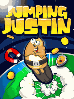 Download free mobile game: Jumping Justin - download free games for mobile phone