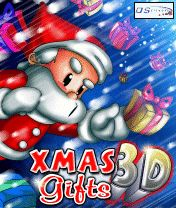 Download free mobile game: Xmas Gifts 3D - download free games for mobile phone