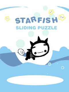 Download free mobile game: StarFish Sliding Puzzle - download free games for mobile phone