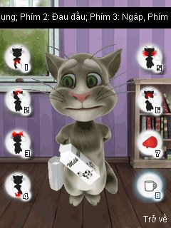 Mobile game Talking Tom Cat 3 - screenshots. Gameplay Talking Tom Cat 3